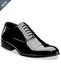 Stacy Adams® Gala Cap-Toe Patent Oxfords