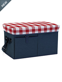ONIVA™ Picnic Time® Ottoman Cooler/Seat with Trolley