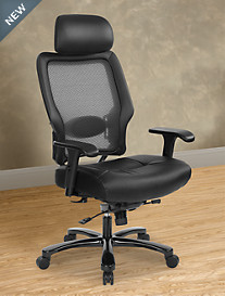 Office Star® Big and Tall Executive AirGrid® Chair