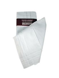 Handkerchief Solid White
