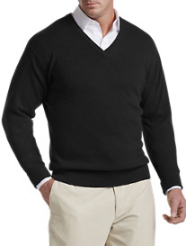 John Laing Cashmere V-Neck Sweater