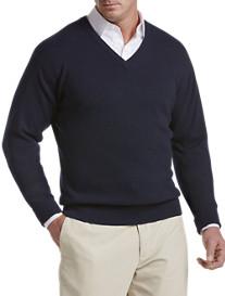 John Laing Cashmere V-Neck Sweater
