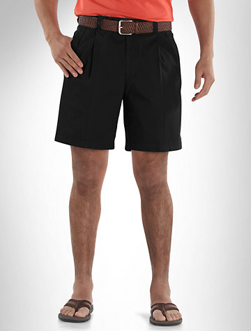 Bruno Saint Hilaire® Pleated Shorts