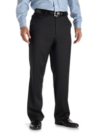 Jack Victor Nano Performance Flat-Front Dress Pants