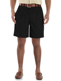 Cutter & Buck™ Pleated Gabardine Microfiber Shorts