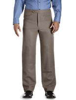 Sansabelt® Flat-Front Polyester Pants - XtraBig Sizes