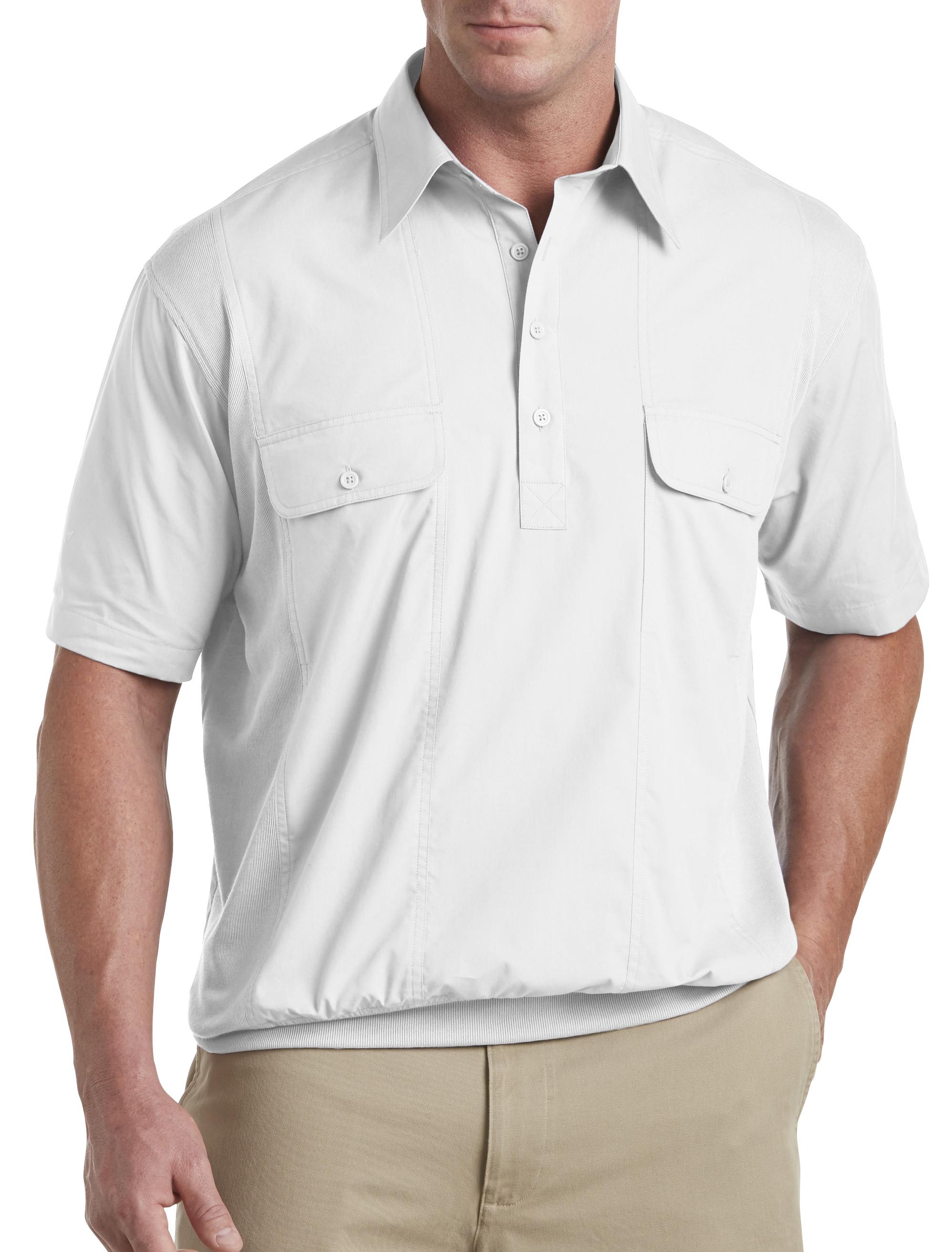Banded bottom orange shirt are