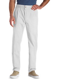 Creekwood® Elastic-Waist Twill Pants