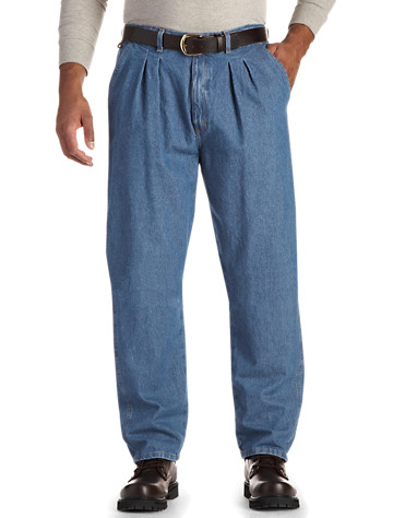 Big & Tall Wrangler® Angler Side-Elastic Carpenter Jeans