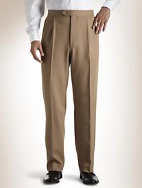 Sansabelt® Pleated Polyester Pants