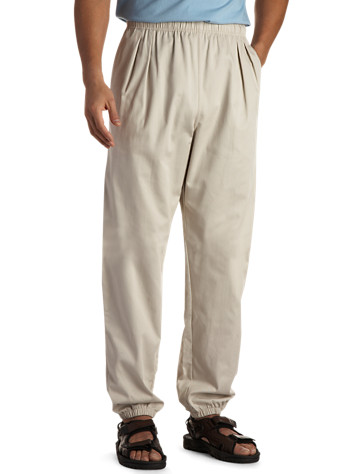 Cotton Twill Beach Pants - ( Active Bottoms )
