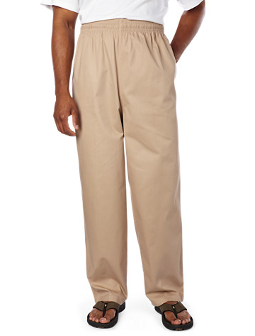 Cotton Twill Beach Pants ( Active Bottoms )