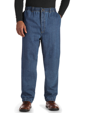 Harbor Bay® Full Elastic Jean | Loose Fit