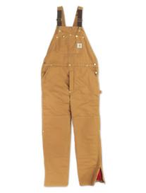 Carhartt® Quilt-Lined Duck Bib Overalls