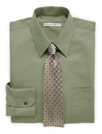 Geoffrey Beene® Solid Sateen Dress Shirt