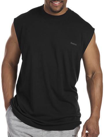 Reebok Jersey Muscle Tee - ( Active Tops )