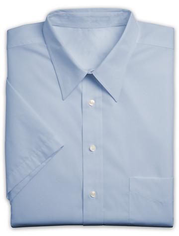 Silver Edition™ Neck-Relaxer® Oxford Dress Shirt