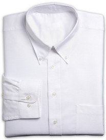 Silver Edition™ Neck-Relaxer® Oxford Dress Shirt
