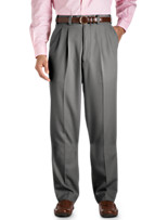 Silver Edition™ Waist-Relaxer® Pleated Gabardine Pants
