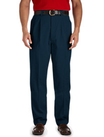 Canyon Ridge® Waist-Relaxer® Pleated Twill Pants