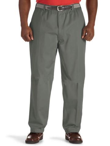 Canyon Ridge® Elastic-Waist Twill Pants - $55.00