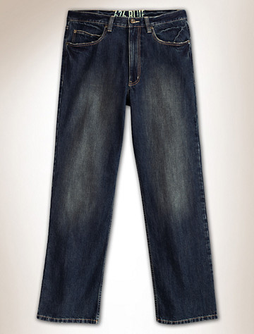 626 BLUE® Tinted Gravel Relaxed-Fit Jeans |