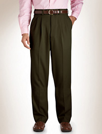 Gold Series Pleated Gabardine Pants