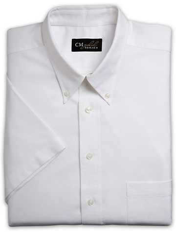 Silver Edition™ Neck-Relaxer® Broadcloth Dress Shirt