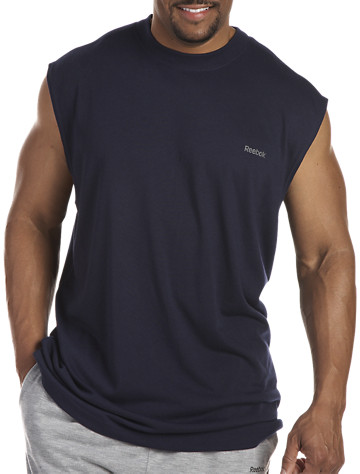 Reebok PlayDry® Jersey Muscle Tee - ( Active Tops )