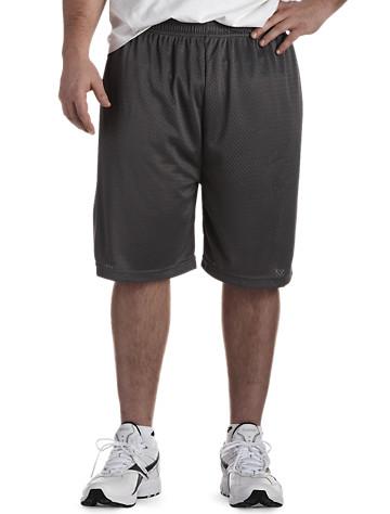 Big & Tall Reebok PlayDry® Jersey Mesh Shorts
