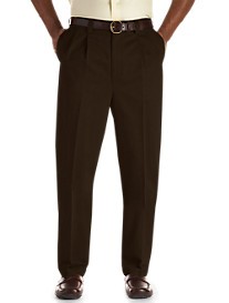Oak Hill® Dual-Action Premium Twill Pleated Pants