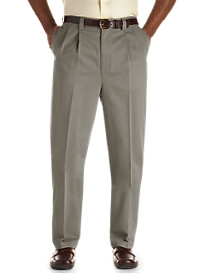 Oak Hill® Dual-Action Premium Twill Pleated Pants