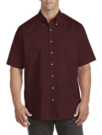 Harbor Bay® Easy-Care Solid Sport Shirt