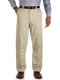 Canyon Ridge® Waist-Relaxer® Flat-Front Twill Pants