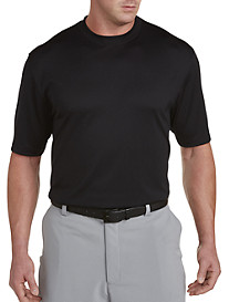 Reebok Golf Play Dry® Solid Mockneck Tee