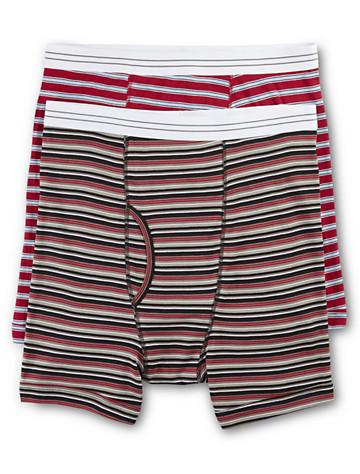 Harbor Bay® 2-pk Stripe Boxer Briefs