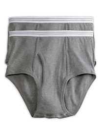 Harbor Bay® 2-pk Color Briefs