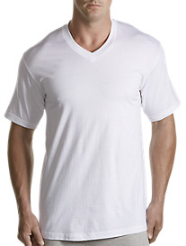 Harbor Bay® 2-pk V-Neck T-Shirts
