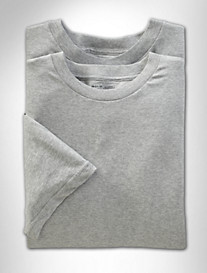 Harbor Bay® 2-pk Color Crewneck T-Shirts
