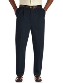 Oak Hill® Waist-Relaxer® Premium Pleated Twill Pants