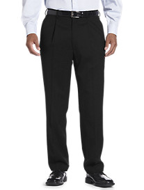 Oak Hill® Continuous Comfort™ Pleated Suit Pants