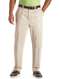 Harbor Bay® Continuous Comfort™ Pleated Chinos