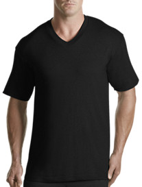 Harbor Bay® 2-pk Color V-Neck T-Shirts