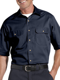Carhartt® Short-Sleeve Twill Work Shirt