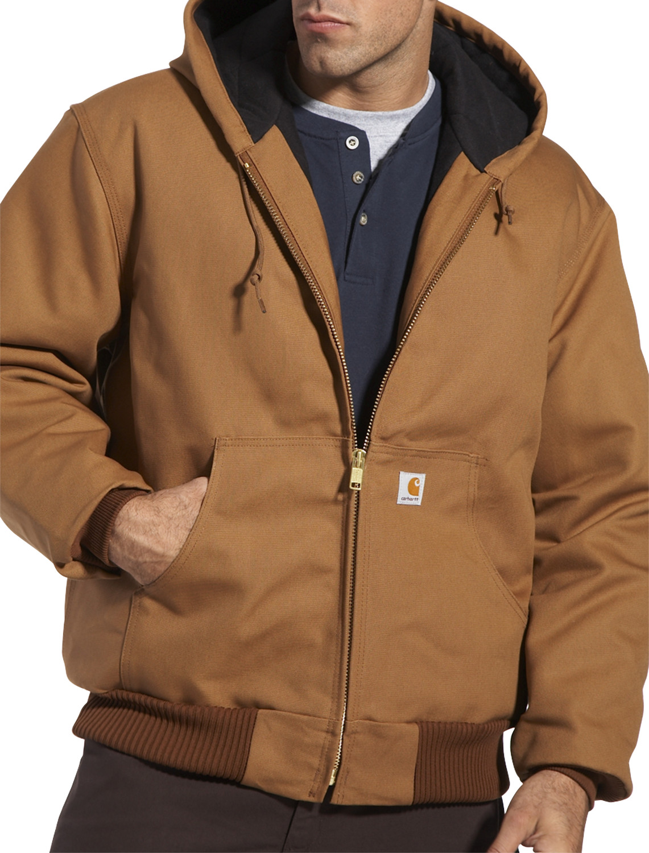 Carhartt® Quilt Flannel-Lined Duck Active Jacket | Outerwear from ... : carhartt quilted flannel lined jacket - Adamdwight.com