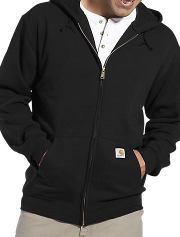 Carhartt® Midweight Hooded Zip-Front Sweatshirt - $57.00