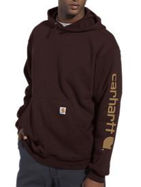 Carhartt® Midweight Logo-Sleeve Hooded Sweatshirt