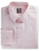 Gold Series™ Wrinkle-Free Cool & Dry Solid Dress Shirt