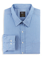Gold Series™ Wrinkle-Free Cool & Dry Stripe Dress Shirt