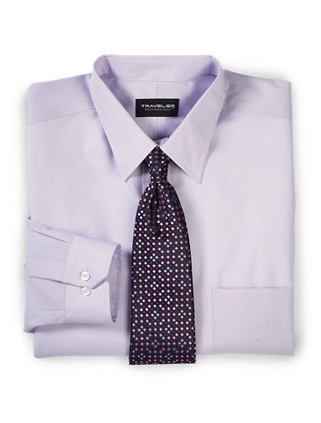 Silver Edition™ Traveler Technology™ Dress Shirt - Available in maize, lilac